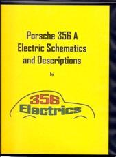 356electrics porsche 356a electric schematics and descriptions